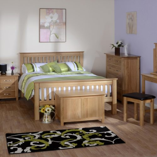 New Oak Bedroom Collection