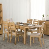 Curve Oak Dining Collection